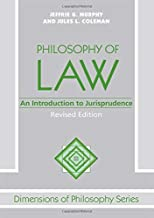Philosophy Of Law: An Introduction To Jurisprudence (Dimensions of Philosophy Series)