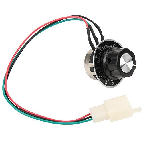 Variador De Velocidad Motor,Motores Electricos Pequeños,Motor DC Perilla De Control De Velocidad...