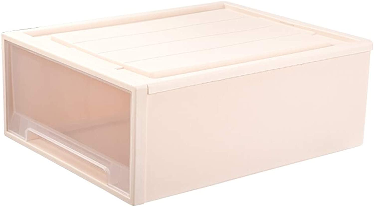 Storage Box Storage Bins Baskets Toy Box Home Containers Cubes Bin Box Gift Baskets Storage Ches-Transparent Plastic Large Capacity Multiple JINRONG (color   22L Single)