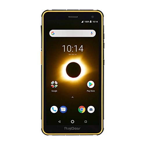RugGear RG650 Outdoor Handy ohne Vertrag - Wasserdicht, Stoßfest, Robust, 5.5'' Corning-Glass Display, Android 8.1 Oreo, Dual-SIM