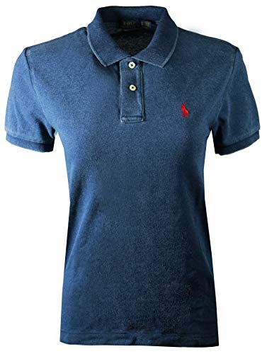 Ralph Lauren Skinny Fit Women Logo Polo Shirt