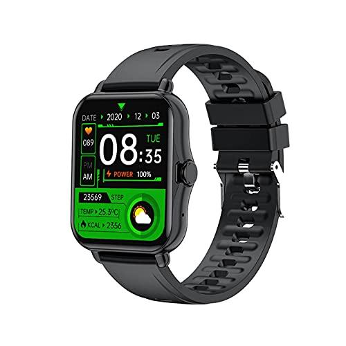 N\C Reloj Inteligente Reloj Inteligente para Hombre Reloj de Llamada Bluetooth para Mujer Control de música Impermeable Nuevo rastreador de Ejercicios Adecuado para Todos los teléfonos móviles