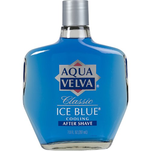 Aqua Velva Cooling After Shave, Classic Ice Blue 7 oz (Pack of 5)