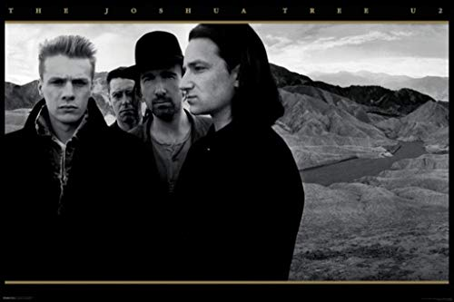 Pyramid America U2 The Joshua Tree Rock Music Album Cover Cool Wall Decor Art Print Poster 36x24