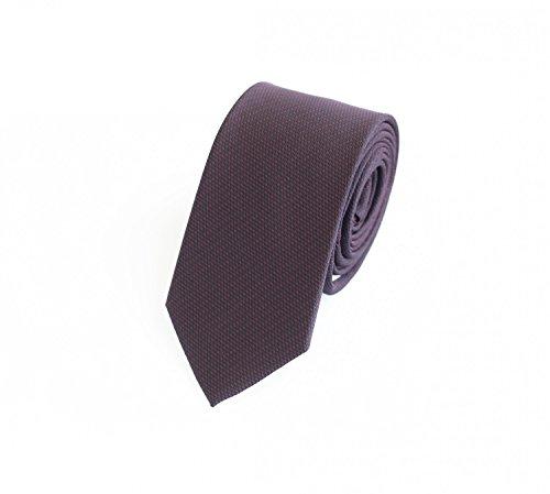 Fabio Farini Fabio Farini - Elegante Herren Krawatte gemustert in 6cm Breite in verschiedenen Farben für jeden Anlass wie Hochzeit, Konfirmation, Abschlussball Gemustert Rot Schwarz