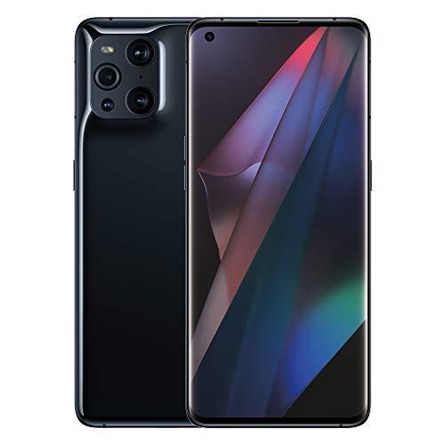 OPPO Find X3 Pro 5G – 12 GB RAM und 256 GB Speicherplatz SIM-freies Smartphone (6,7 Zoll, Dual 50 MP Quad-Kamera, Snapdragon 888 Prozessor, Dual-SIM) – Schwarz