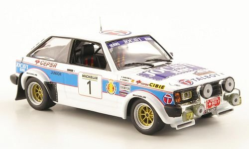 Talbot Sunbeam Lotus, No.1, Jocavi Jeans, Rally Principle de Asturias, 1982, Modellauto, Fertigmodell, MCW-SC44 1:43