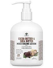 Vanalaya Cocoa Butter & Shea Butter Moisturizing Lotion wit