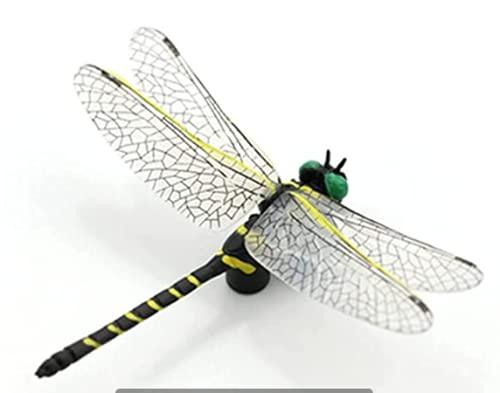 Insektsleksak, minidjurfigurer, simulering trollslända modell actionfigurer plast insektsmodell kognition pedagogiska barnleksaker