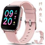 NAIXUES Smartwatch, Reloj Inteligente Impermeable IP67 Reloj Deportivo 1.4' Pantalla Táctil...