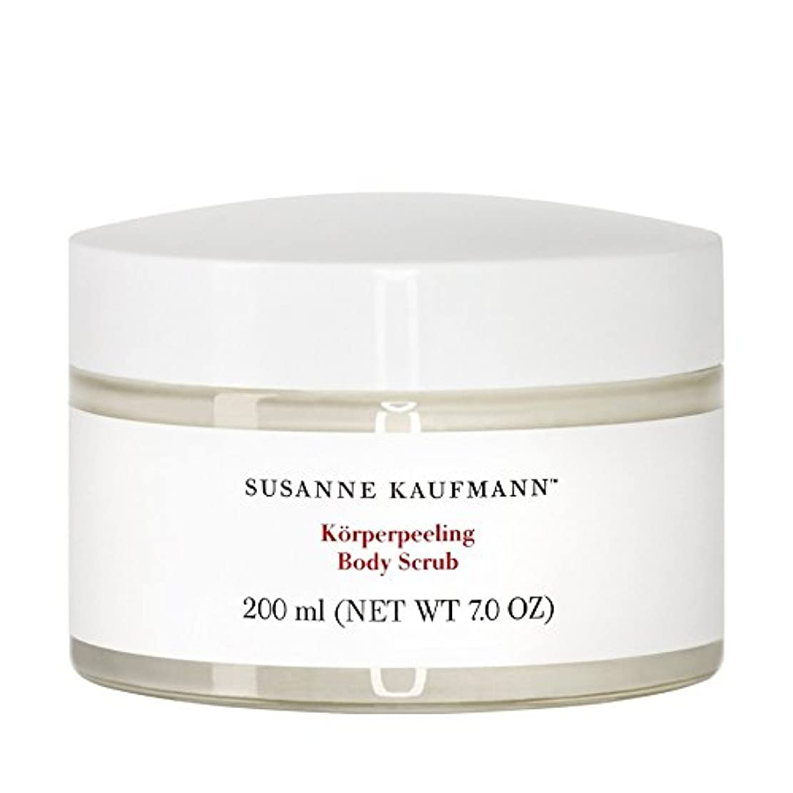 継続中湿度クラックSusanne Kaufmann Body Scrub 200ml (Pack of 6) - スザンヌカウフマンボディスクラブ200ミリリットル x6 [並行輸入品]
