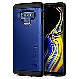 【Spigen】 Galaxy Note9 ケース [ SC-01L SCV40 ] 対応 米軍MIL規格取得 耐衝撃 スタンド機能 タフ・アーマー 599CS24591 (オーシャン・ブルー)