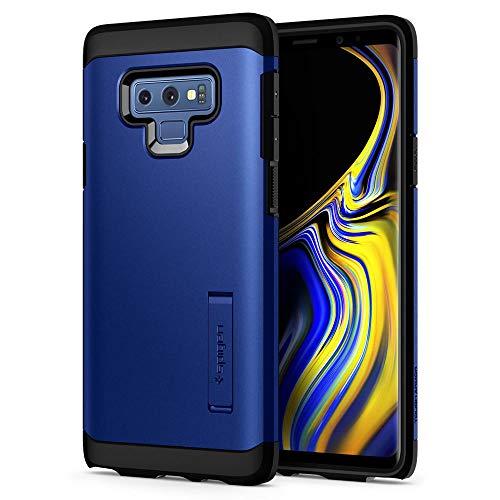 Spigen [Tough Armor Kompatibel mit Samsung Galaxy Note 9 Hülle (599CS24591) Doppelte Schutzschicht für Extrem Fallschutz Schutzhülle Case Ocean Blue