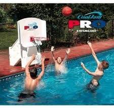 Swimline Super Wide Cool Jam Pro Swimming Pool Basketball Hoop
