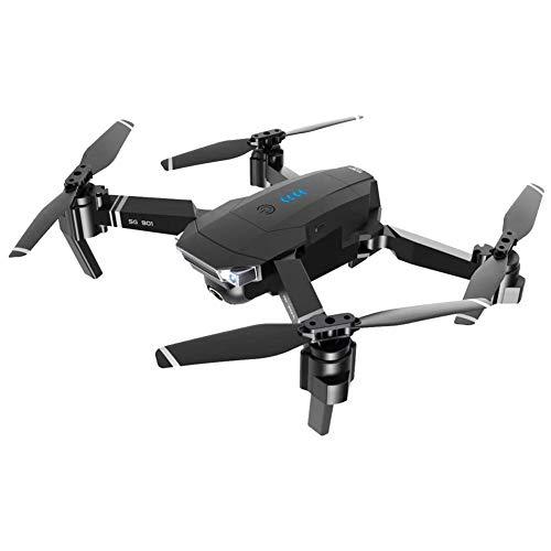 LYHLYH Drone Double caméra, HD 4K Photographie aérienne Longue Endurance au Pliage Quadcopter Drone Facile à Voler, Mode Long Time Flight Headless pour Les débutants et Les Professionnels