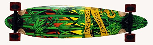 Paradise Complete Longboard Pintail Rasta Bamboo 3 41.0 x 9.75