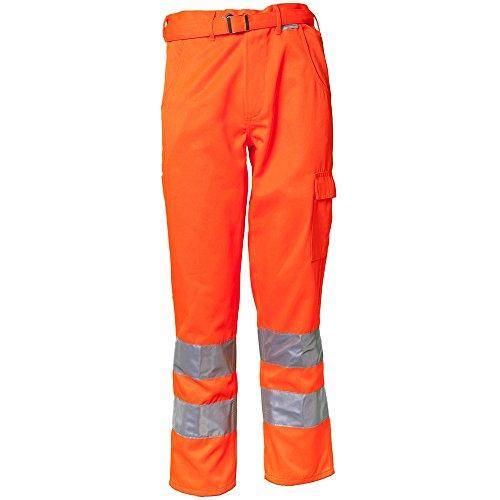 Planam Bundhose Warnschutz, Größe 28, 1 Stück, orange, 2011028