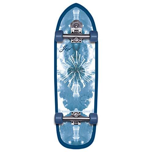 YOW Mundaka 32' Power Surfing Series Surfskate Skateboard, Adultos Unisex, Multicolor (Multicolor)