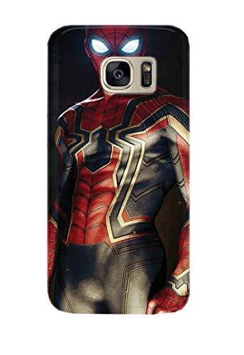 Hülle Me Up Handy Hülle für Samsung Galaxy S7 Spiderman Peter Parker Marvel Comics Superhero 16 Designs