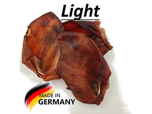 Breer Schweineohren Light   doppelt getrocknet   Deutsche Herstellung   Kauartikel, Gewicht:5 Kg