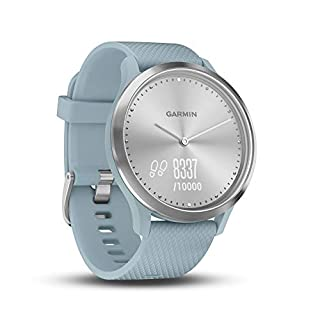 Garmin vivomove HR Hybrid Smart Watch (Small/Medium) - Silver with Seafoam Band (B07GF49M24) | Amazon price tracker / tracking, Amazon price history charts, Amazon price watches, Amazon price drop alerts