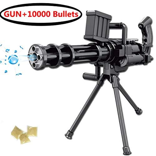 Water Foam Toy Blaster Gun, Soaker Water Pistol Blaster Gun Dart Gun Toy with Bracket 10000 Pcs Soft Water Crystal,Beach Sand Water Blaster Toy for Children Fun Outdoor Game