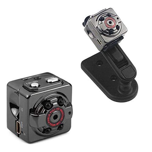 HD 1080P Kamera Überwachungskamera Camera Home Mini Camera Kleine und tragbare Kamera mit Nachtsicht für Zuhause/Geschäft-Schwarz