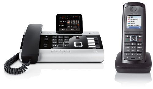 Siemens Gigaset DX600A SET mit 1x E49H Mobilteil – ISDN, Anrufbeantworter, Bluetooth® ECO DECT