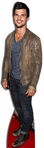 Preisvergleich Produktbild Pappaufsteller Taylor Lautner Höhe ca. 178cm Aufsteller Standup Figur Kinoaufsteller Pappfigur Cardboard Lebensgroß Life-Size Standup