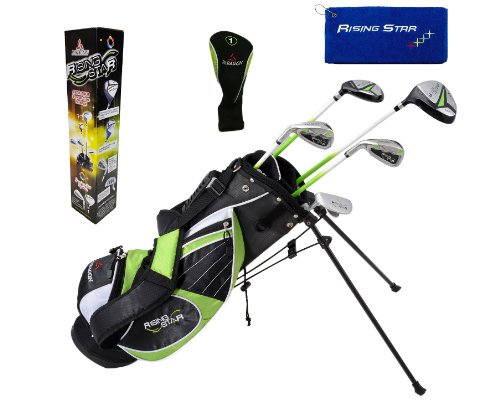 Paragon Rising Star Junior Kids Golf Training Club/Ages 8-10 Green/Right-Handed