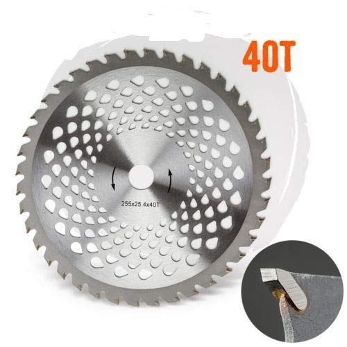 Laliva tools -New Model Best quality 1PC 40T carbide blade for brush cutter,grass trimmer