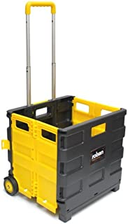 Rolson Tools 68900 - Carretilla con caja de transporte plegable (25 kg)