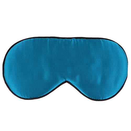 Healifty Schlafaugenabdeckung Verstellbare Träger Lidschatten Super Glatte Bequeme Seidenaugenabdeckung für Die Heimreise