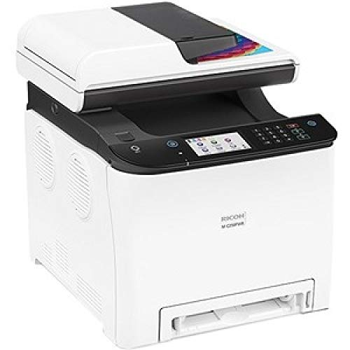 Ricoh M C250FWB Impresora láser Color multifunción (A4, 4-in-1, Impresora, copiadora, Scanner, Fax, D-ADF, WLAN, NFC)