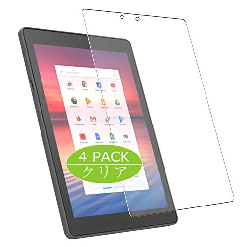 Vaxson 4-Pack Screen Protector Compatible with Chromebook Tab CTL Tx1 9.7' Tablet, Ultra HD Film Protector [NOT Tempered Glass] TPU Flexible Protective Film
