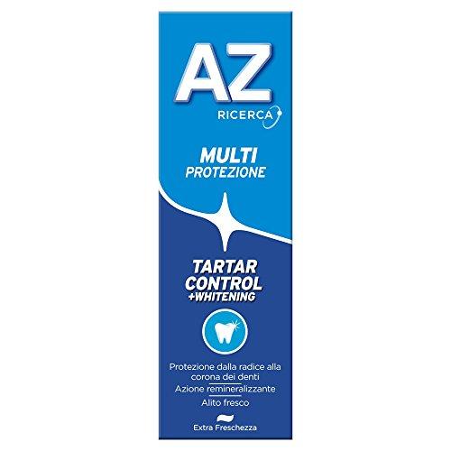 AZ Dentifricio Multi Protezione Tartar Control + Whitening 75 ml - [confezione da 9]