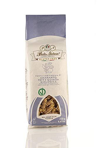 Pasta Natura Pasta De Amaranto, Tef Y Quinoa Bio 250 Gr – Fusilli 250 g