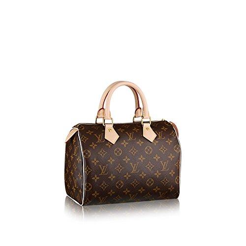 Louis Vuitton Monogram Canvas Speedy 25 M41109 Purse Handbag