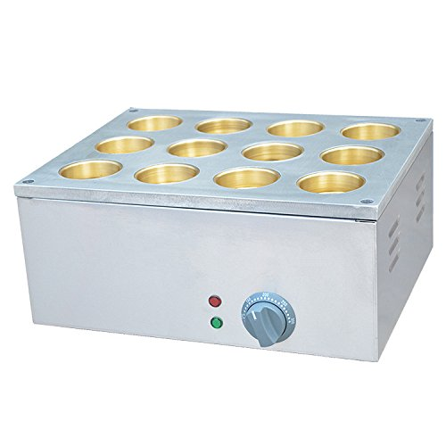Electrical Type 12 Hole Red Bean Machine Bean Care Grill Layer Cake Machine Waffle Maker Copper Plate (220v)