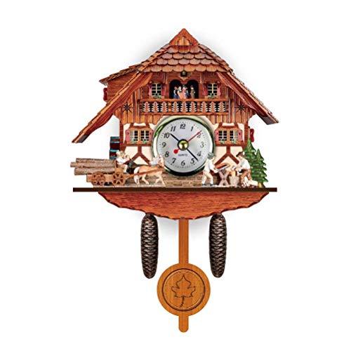 WMY Reloj de Cuco de la Selva Negra, Nuevo Reloj de Madera C
