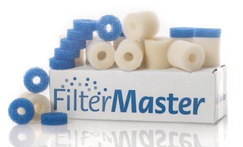 Filtermaster Aquarium-Wasserfilter BigPack Set 1 | Filter für EHEIM Aquaball und Biopower | Filterpatrone | Filtermatte