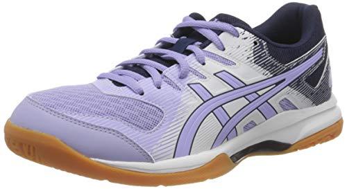 ASICS Womens Gel-Rocket 9 Volleyball Shoe, White/Vapor,39 EU