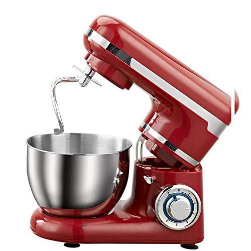 Professionele elektrische mixer 4L met standaard En Kom, Handheld voedsel Klop met 1200W Power, Lower Noise, geschikt voor Home Kitchen Baking Cake