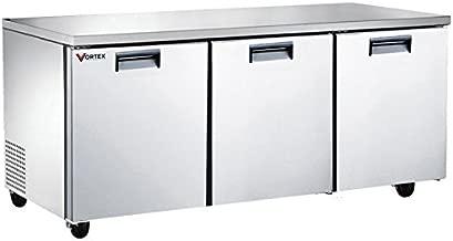 Vortex Refrigeration Commercial 3 Door 72