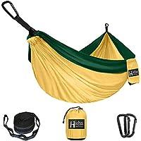 Hieha Single Parachute Camping Nylon Hammock