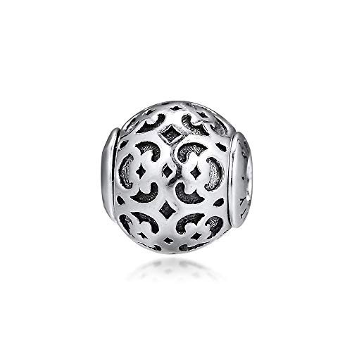 Genuine 925 Sterling Silver Small Hole Charm Spirituality Essence Beads For Jewelry Making Fits Essence Charms Bracelet