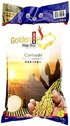 Golden Rice Box Cambodia Jasmine Rice, 5kg