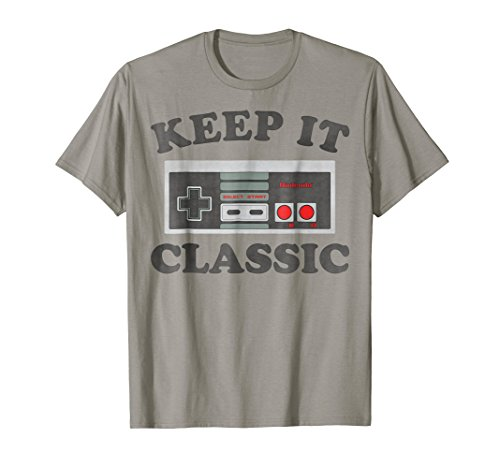 NES Controller Keep It Classic T-shirt in 5 Colors. Adult, Teen and Youth Sizes