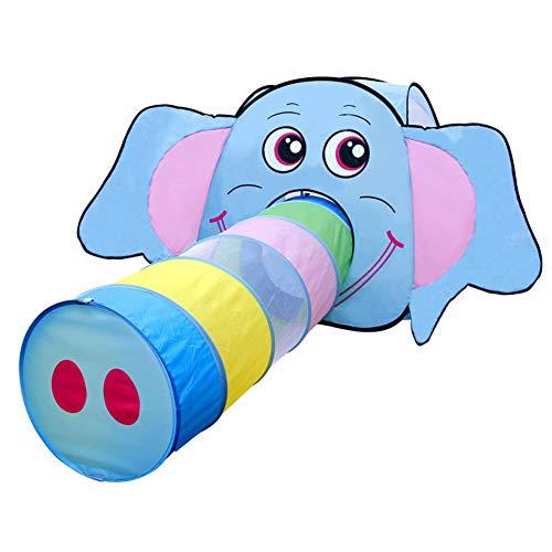 Elephant Nose Children's Tent met Tunnel, Indoor Big Baby van de Prinses Toy/Game House, Elephant neus kan ook gebruikt worden als een
