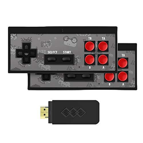 Nikula Consola de Videojuegos Retro 4K HDMI incorporada en 750 minijuegos clásicos Controlador de Gamepad Retro inalámbrico de Mano USB HD para Jugadores duales Presents